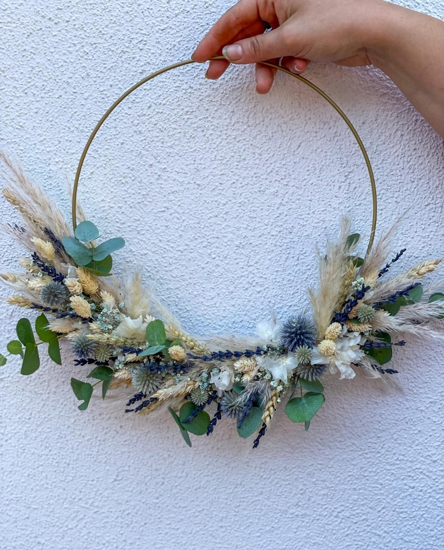 Trockenblumen Loops