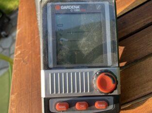 Gardena Bewässerungscomputer c1060 plus
