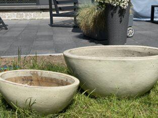 Hochwertige Keramik Pflanztöpfe im Set (2 Stk) **neuwertig**