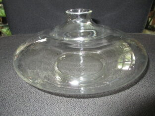 Solifleur- Vase_Glasvase_Ufo – Form_für Einzelblüten
