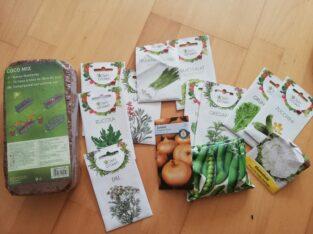 Verschiedene Samen Gemüse, Saatgut