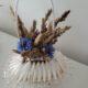 Duftkörbchen getrocknete Getreide blumen in Seife