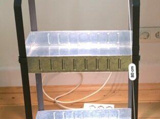Minigewächshaus IKEA Krydda z.B. für Hydrokultur