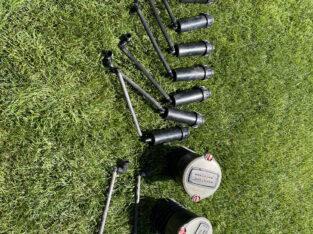 Gartenbewässerung (gebrauchte Regner Hunter und Gardena)