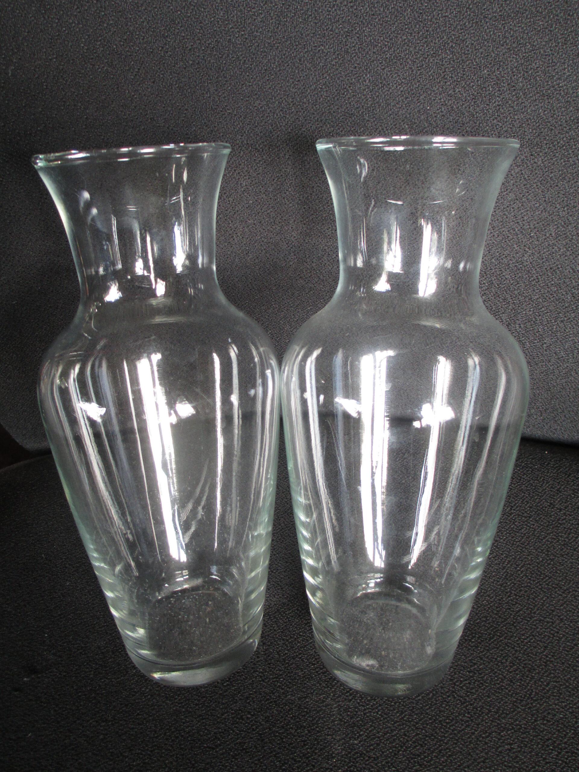 2 x Vase_Glasvase_zusammen oder einzeln zu verkaufen