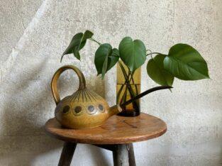Alte Keramik Gießkanne Vintage Design German Pottery Art