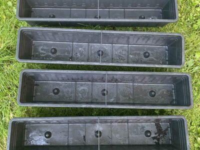 4x Balkon Kasten fast wie neu